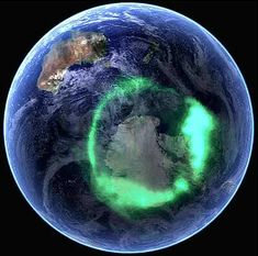Corona Australis above Antarctica