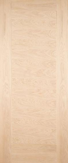 The Modica is a full panelled door. External Oak Doors, Contemporary