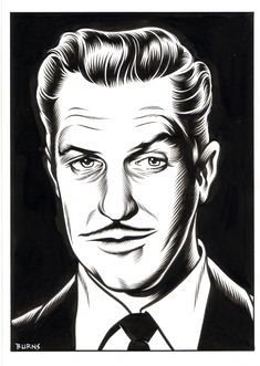 Vincent Price by Charles Burns