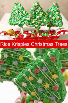 Business Cookware Ought To Be Sturdy And Sensible Rice Krispies Christmas Trees Are A Fun And Easy Treat To Make With The Kids Christmas Tree Food, How To Make Christmas Tree, Christmas 2019, Diy Christmas, Merry Christmas, Holiday Treats, Holiday Fun, Holiday Dinner, Holiday Foods