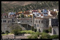 Stayed the night in this castle!! It was awesome, but I wish it had a/c...haha Guanajuato, Guanajuato, Mexico
