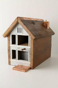 Duplex Birdhouse