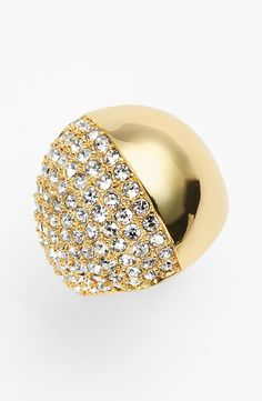 Bewitched by this sparkly cocktail ring.
