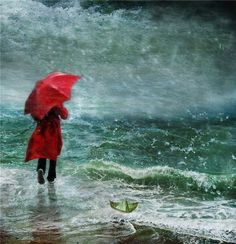 red umbrella by helen cottle