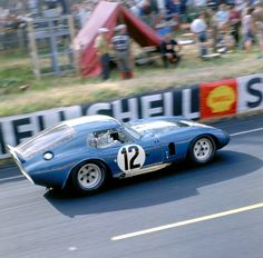 Shelby Daytona coupe at Le Mans in 1965.