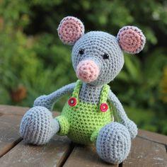 ★ I N S P I R A T I O N Nerissa | Crochet | Haken @miss__neriss Manfred the Mouse...Instagram photo | Websta (Webstagram)