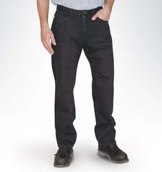 AA Regular Jean - Black