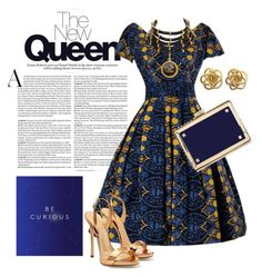 """""""Vintage Dress"""" by phillipst622 ❤ liked on Polyvore featuring Valentino, Chanel, Giuseppe Zanotti and vintage"""