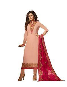 67ad747d708 Ready Made Fashionable Designer Straight Salwar Kameez LT Nitya 2201-2208  (Light Pink
