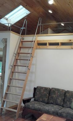 Loft Ladders For Small Spaces Stairs For Small Spaces