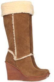 Bruine Ugg laarzen Aubrie boots