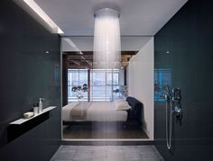 Bathroom At The Oriental Warehouse Loft by Edmonds + Lee Architects