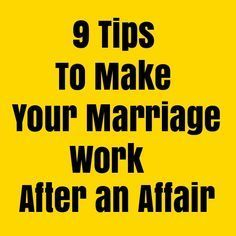 9 Tips to Make Your Marriage Work After an Affair >>> Some couples end up in divorce after an affair and some chose to stay and work on their marriage. If you are one of those who chose the latter, it is important to know how to make your marriage work after an affair. So how to survive an affair? #marriage #saveyourmarriage #relationships