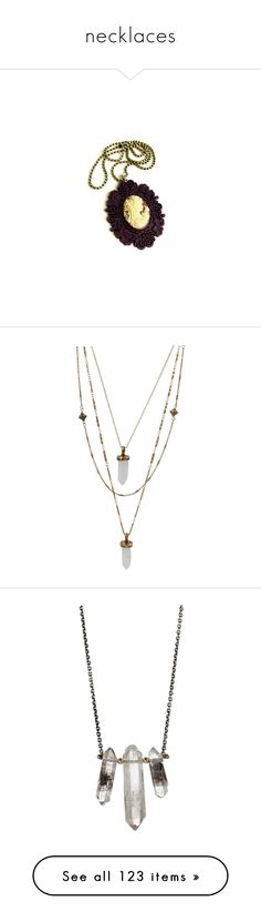 """""""necklaces"""" by xxmlotionlessxx ❤ liked on Polyvore featuring jewelry, necklaces, accessories, cameos, cameo jewelry, plum necklace, cameo necklace, stone jewelry, cross pendant necklace and cross pendant jewelry"""