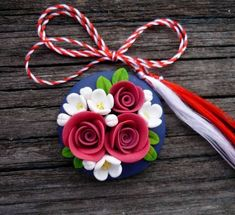 Polymer Clay Ornaments, Polymer Clay Flowers, Polymer Clay Projects, Polymer Clay Creations, Polymer Clay Art, Diy Clay, Handmade Polymer Clay, Polymer Clay Jewelry, Creative Crafts