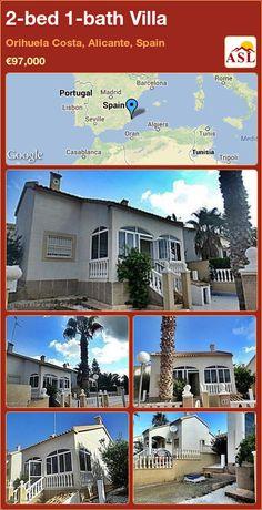 2-bed 1-bath Villa in Orihuela Costa, Alicante, Spain ►€97,000 #PropertyForSaleInSpain