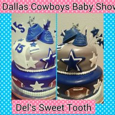Amazing Dallas Cowboys Baby Shower Cake