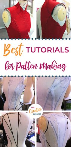 Here are the BEST tutorials for pattern making your own sewing patterns! Get started with learning to draft your own patterns - the female bodice block / bodice sloper, the basic sleeve block, the easy skirt block! - and develop these basic blocks and slopers into actual sewing patterns that not only FIT you but are also unqiue and creative too! The pattern making tutorials on my site are growing - and I'd love your suggestions for others! Click to learn more about pattern making now!
