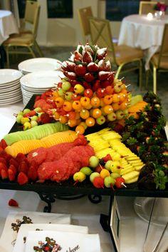 Colorful Fruit Display