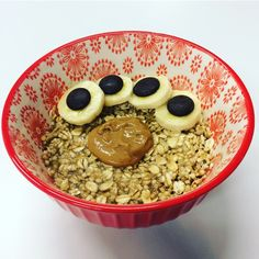 Chunky Monkey Oatmeal Recipe Chunky Monkey, Oatmeal Recipes, Cereal, Cooking, Breakfast, Healthy, Food, Kitchen, Morning Coffee