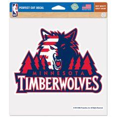 "Minnesota Timberwolves WinCraft 8"" x 8"" Flag Color Decal - $5.99"