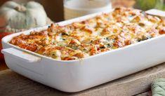 Lasagne ze świeżym łososiem i szpinakiem / Salmon and spinach lasagne