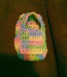 Zapato bebé  crochet (diseño: Astrid Domínguez)