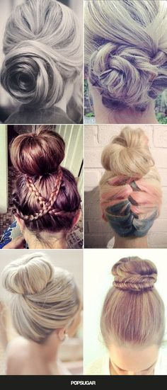 Pin for Later: Beautiful Buns You Need to Rock This Summer