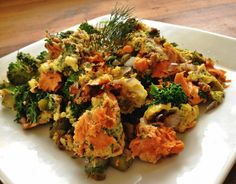 Herb & Salmon Scramble | fastPaleo Primal and Paleo Diet Recipes