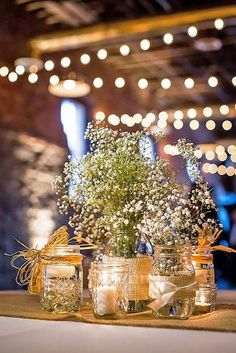 rustic wedding decorations 10
