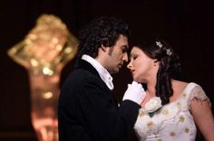 Jonas Kaufmann and Anna Nebtrebko in La Traviata