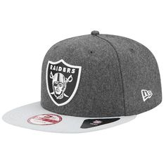 Oakland Raiders hat - New Era NFL 9Fifty Classic Redux Snapback - Men s -  Foot Locker cc6b024a439