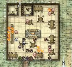 map tavern - Google-Suche Fantasy Map, Medieval Fantasy, Fantasy World, Pathfinder Maps, Building Map, Rpg World, Map Layout, Tile Art, Tiles