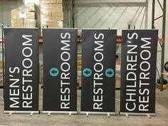 Multi Campus and Mobile churches who need portable use signs with BIG TYPE, minimal words, big message. Park Community Church, Chicago IL