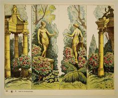 DS 9. [Garten-Seitenteile. Alte Ausgabe]
