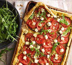 Tomatentaart met feta en pesto - Recept - Jumbo Supermarkten
