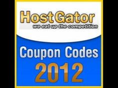 You will find here the best discount coupons and promo codes for Hostgator. We Hostagator codes valid from September 2012 till the end of December. Discount Coupons, Coupon Codes, Competition, Coding, Good Things, Youtube, December, Blog, Blogging