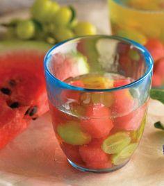 Clericot de sandia y uva verde/Clericot watermelon and green grape
