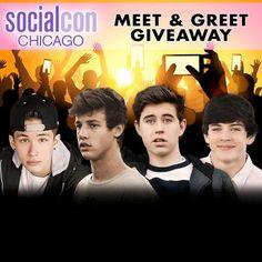 Social Con Giveaway! #SocialCon | via Facebook social con,  boys -  cameron dallas,  magcon