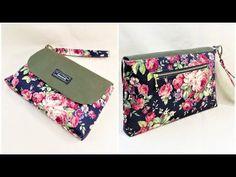 セカンドバッグ作り方 DIY clutch bag tutorial - YouTube Diy Clutch, Clutch Bag, Sewing Tutorials, Sewing Patterns, Hip Purse, Tote Tutorial, Couture, Purses And Bags, Creations