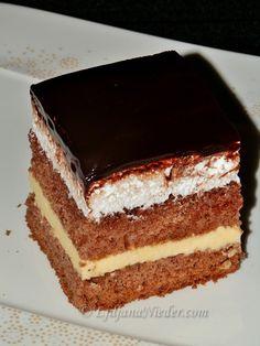Podravske kocke | Ljiljana Nieder Taste Of Home, Tiramisu, Cooking Recipes, Sweet, Ethnic Recipes, Food, Candy, Eten