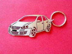 VW Jetta Keychain Personalized Keychain by GuestFromThePast