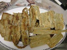 Fried or Baked Cardone (Artichoke family). -  grandma fried then & mom put them in frittata