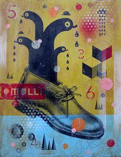 Sauerkids #art #painting Illustrations, Illustration Art, Art Design, Graphic Design, Pop Art, Lowbrow Art, Arts Ed, Pop Surrealism, World Of Color