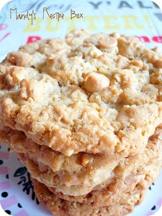 Mandy's Recipe Box: Peanut Butter Oatmeal Cookies