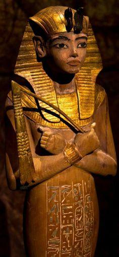 Pharoah Tutankhamun.
