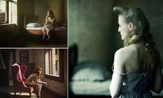 For his project, Richard Tuschman decided to recreate the paintings of Edward Hopper by photographing famous scenes from his hero's work.