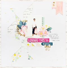 #papercrafting #scrapbooking #layouts -  by jcchris at @studio_calico