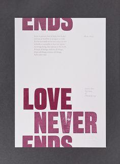 Love never ends… [thecounterpress]