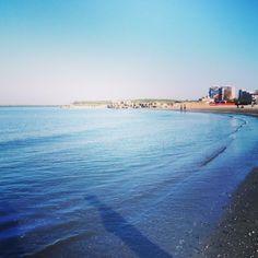 Black Sea in spring